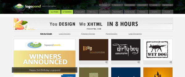 10 cool websites for designers