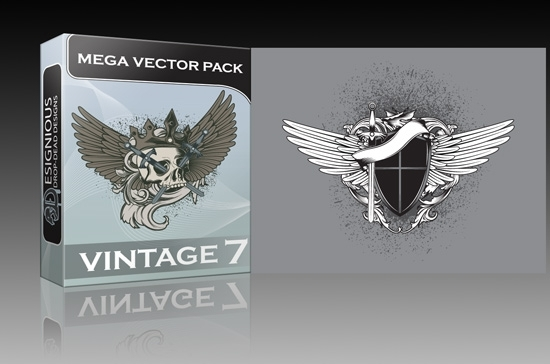 Vintage mega vector 7 pack is out