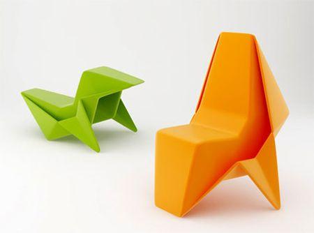 25 Amazing Origami Inspired Designs Pixel77