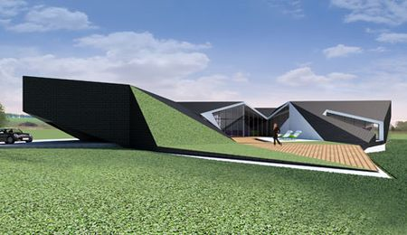 An Origami Inspired Concept House