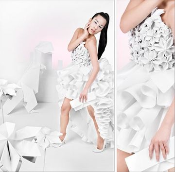 35+ Origami inspired fashion designs