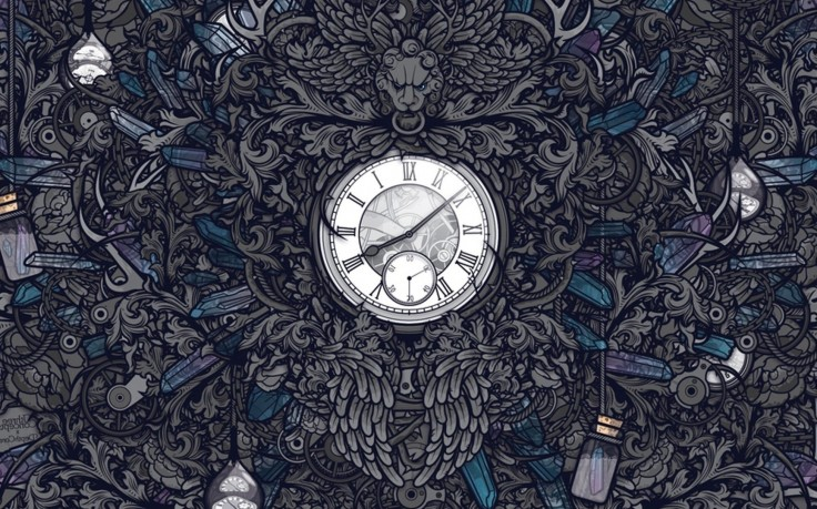 13127 Artwork Clocks Gothic Jared Nickerson Digital Art 736x459