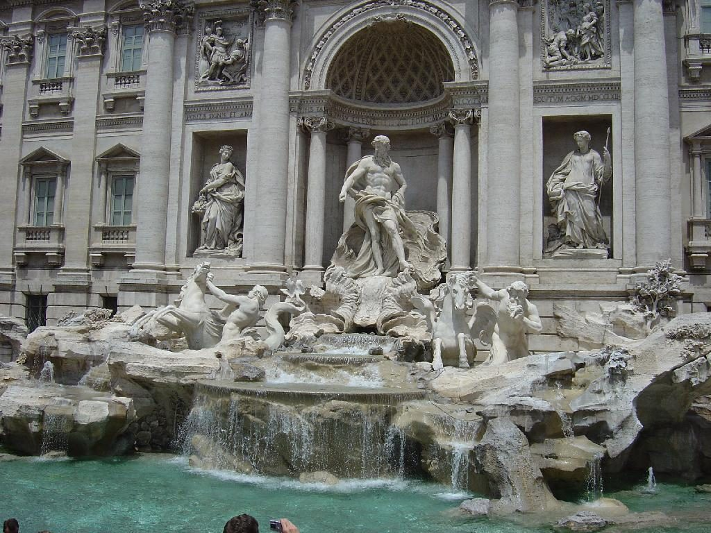 Rome Trevi Fountain