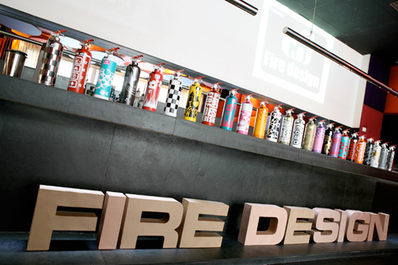 Stylish Fire Extinguisher Designs