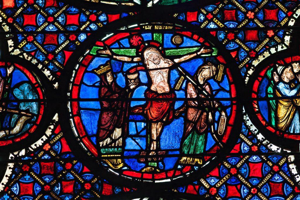 Vitraux Deambulatoire Cathedrale De Bourges Uxga