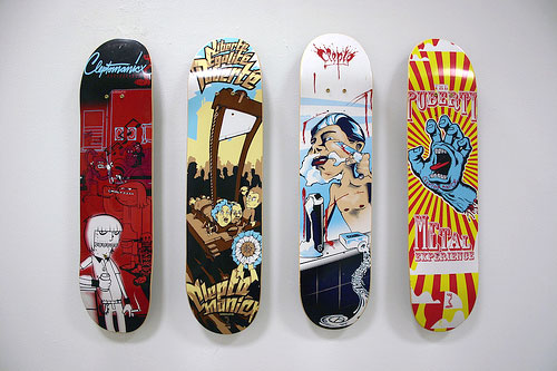 Design on Wheels – 100+ Seriously Awesome Skateboard Prints