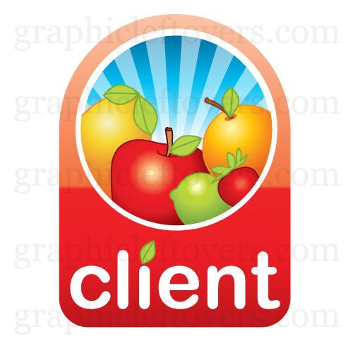Showcase of Cool Fruit Logos