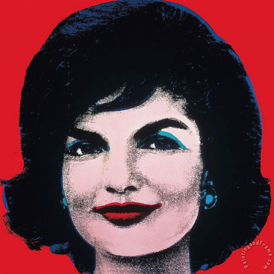 Jackie 1964 Painting by Andy Warhol; Jackie 1964 Art Print for sale