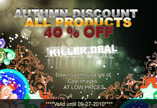 40% discount for all products on Designious.com