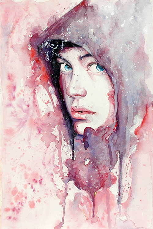 Watercolor Paintings By Molly Brill