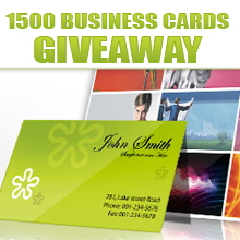 1500 Business Cards Giveaway from All Business Cards!