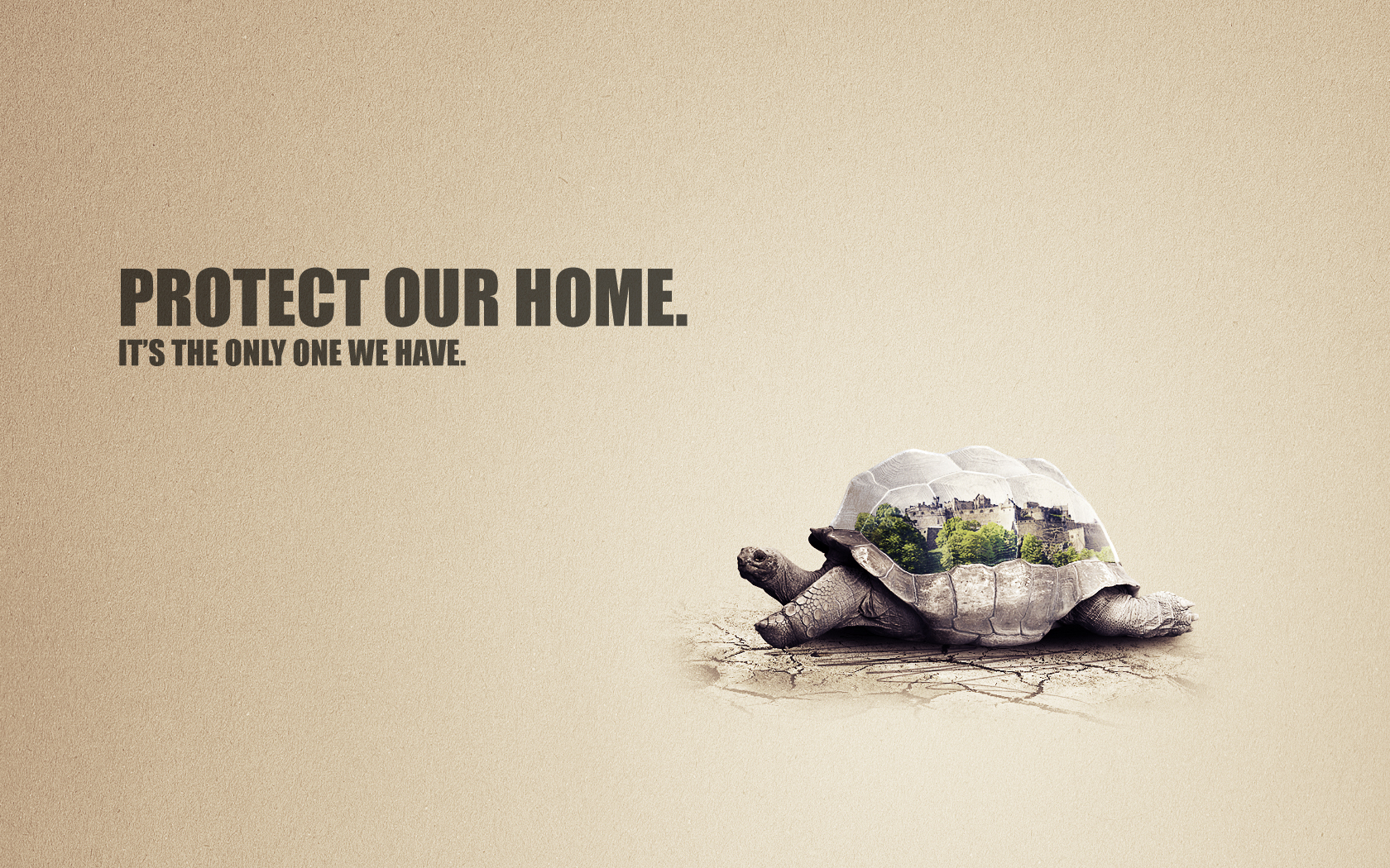 Ad Concept design process: creating an eco-friendly concept design in photoshop
