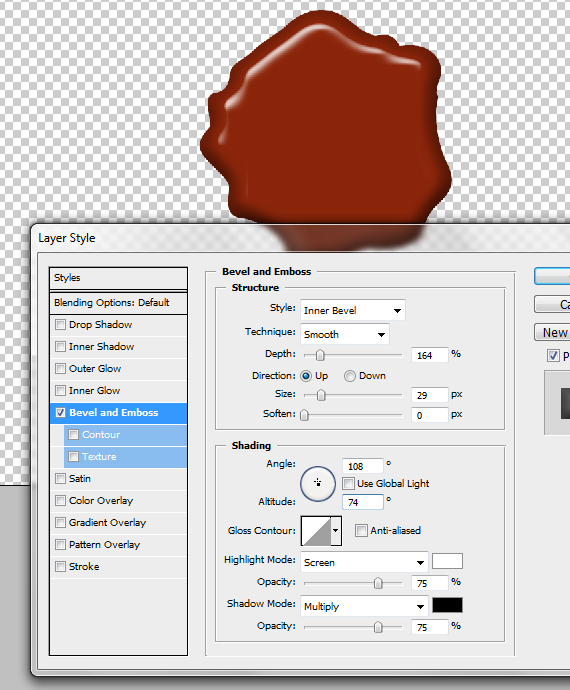 Design Process: How to Create a Detailed Wax Seal with Photoshop