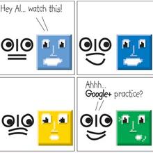 Pixel Comic Strip #2 by Alan Jones