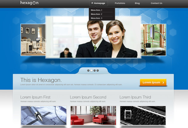 Awesome new design goodies from Designtnt - WP Theme, Vectors, PS ...