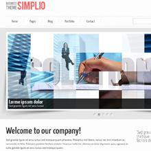 Fresh Goodies on Designtnt.com: Simplio Business Theme html Template & Photoshop Pencil Drawing Action