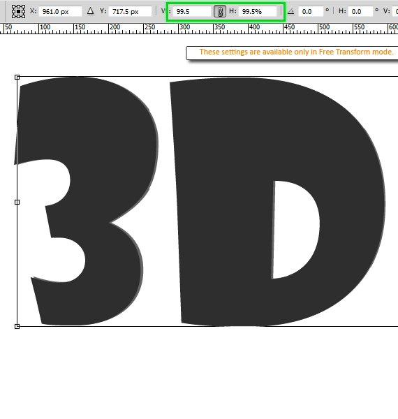 How To Create 3d Text Without The Use Of Any 3d Tools