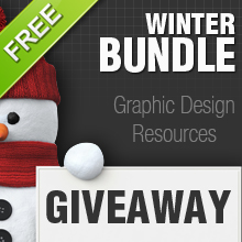 Giveaway – Win 5 x Inkydeals Winter Bundles worth $2500 + Bonus files!