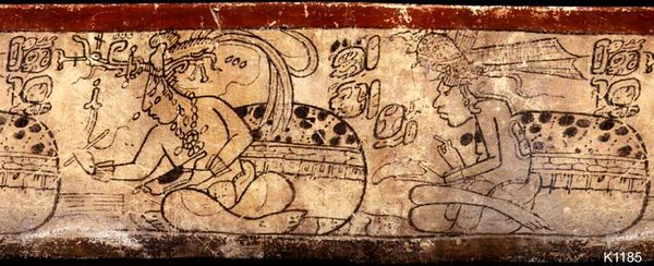 Examples with descriptions - Ancient Mayan Art