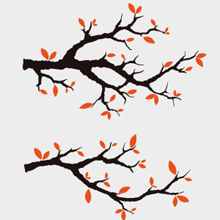 Weekly Freebie #5 – Beautiful Vector Branches