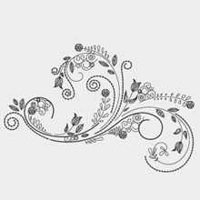 Free Vector of the Day #17: Vector Flower