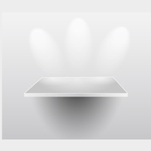 Free Vector of the Day #29: Presentation Shelf