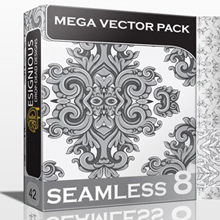 10 New Beautiful Seamless Pattern Vector Packs from Designious.com!