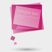 Free Vector of the Day #48: Web Banner Speech Bubble