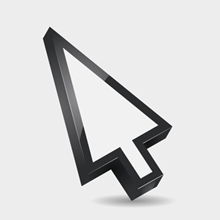 Free Vector of the Day #64: 3D Mouse Pointer