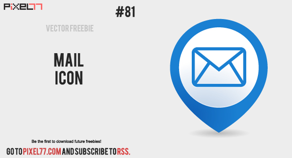 free vector of the day 81 mail icon pixel77
