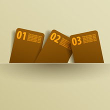 Free Vector of the Day #75: Message Cards