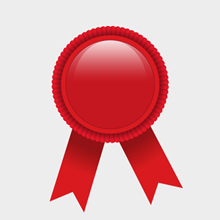 Free Vector of the Day #79: Red Award Ribbon