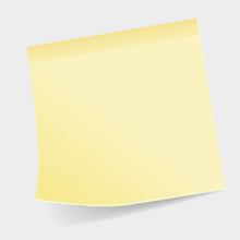 Free Vector of the Day #71: Sticky Note