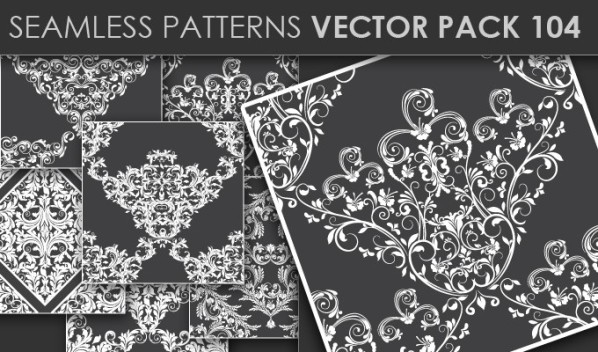 20 Cool T-shirt designs & 10 Seamless Patterns Vector Packs