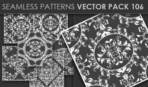20 Cool T-shirt designs & 10 Seamless Patterns Vector Packs from