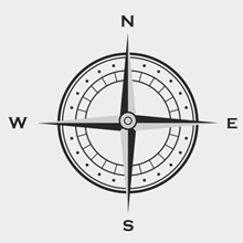 Free Vector of the Day #124: Compass Decal
