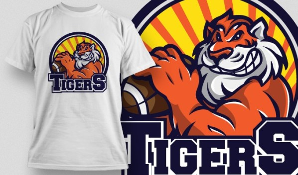 20 brand new t shirt designs 10 mascots vector packs for T shirt sample design