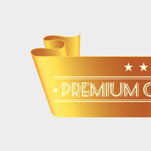 Free Vector of the Day #139: Golden Ribbon