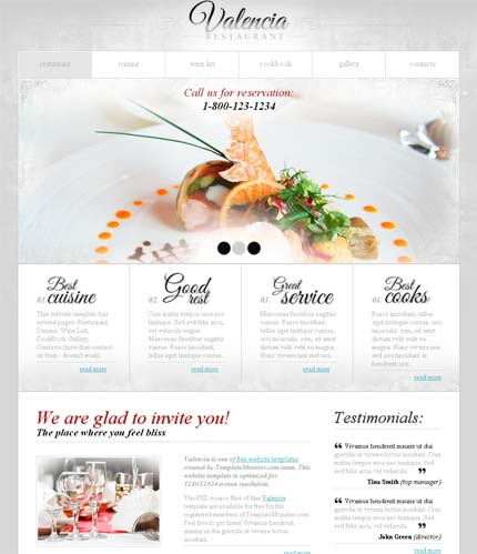 showcase of 20 free innovative web templates from 2012 pixel77