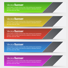 Free Vector of the Day #154: Vector Banners