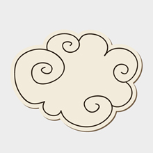 Free Vector of the Day #155: Doodle Cloud
