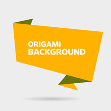 Free Vector of the Day #221: Origami Background