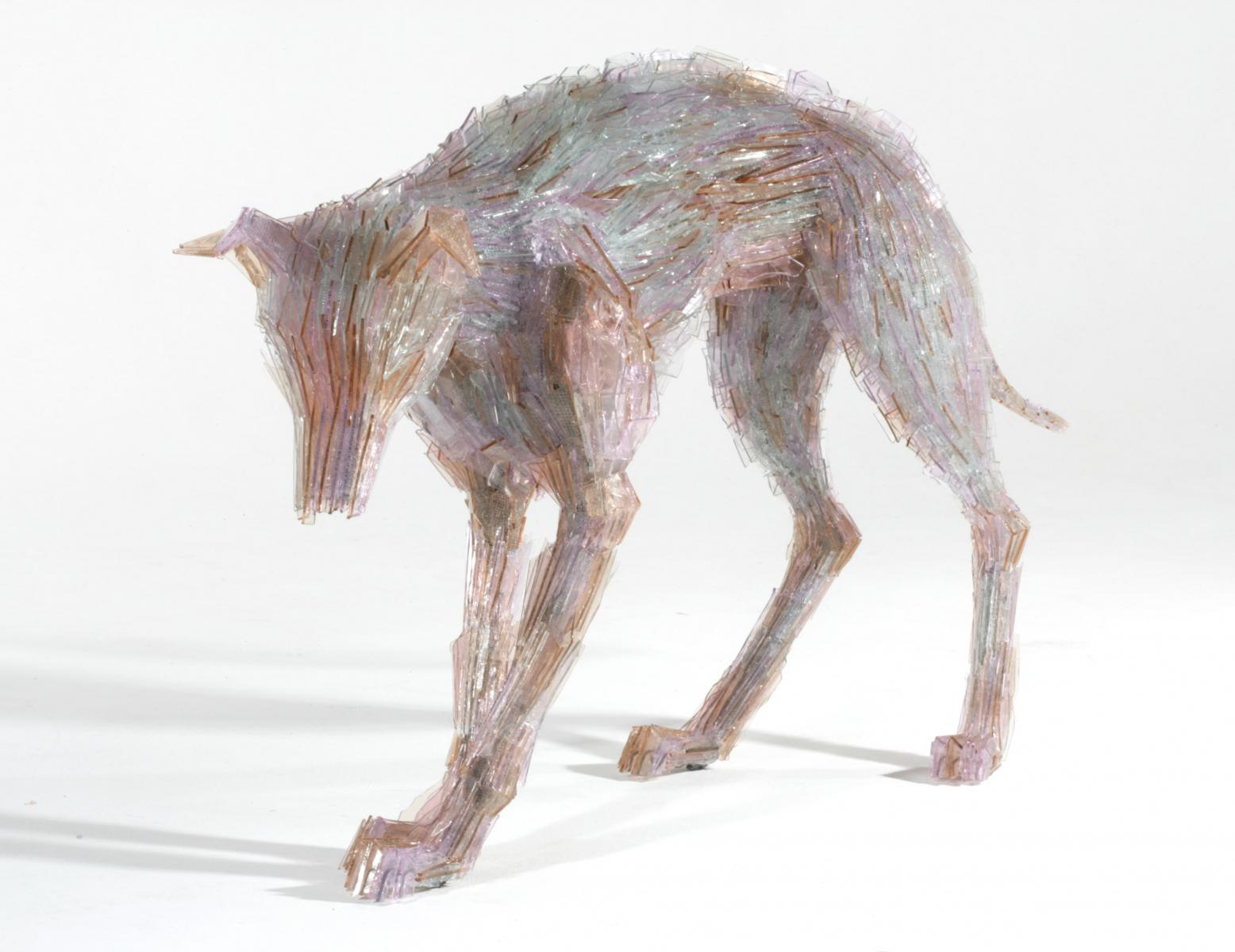 Amazing Glass Shard Sculptures by Marta Klonowska