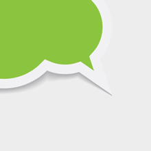 Free Vector of the Day #281: Chat Bubble