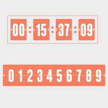Free Vector of the Day #296: Countdown Timer - PIXEL77
