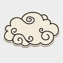 Free Vector of the Day #299: Doodled Cloud