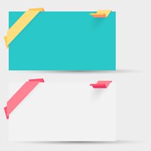 Free Vector of the Day #287: Origami Cards