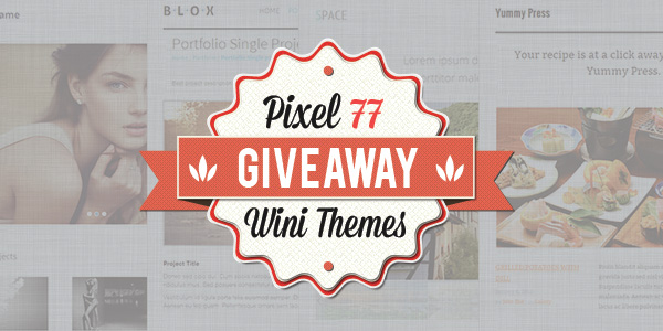 giveaway 4 premium responsive html templates from wini themes