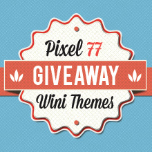 Giveaway: 4 Premium Responsive HTML Templates from Wini Themes!