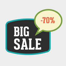 Free Vector of the Day #341: Discount Banner